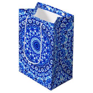 Sacola Para Presentes Média Estilo G403 de Mehndi da mandala do saco do