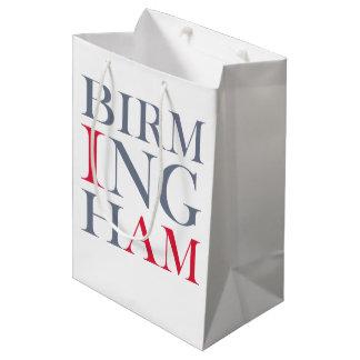 Sacola Para Presentes Média Eu sou saco do presente de Birmingham