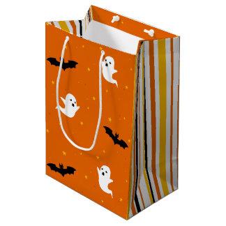 Sacola Para Presentes Média Fantasmas & saco do presente do Dia das Bruxas dos