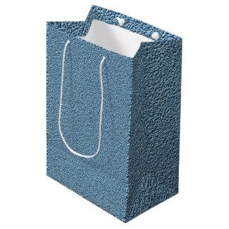 Sacola Para Presentes Média Fibra de vidro do azul de Carolina