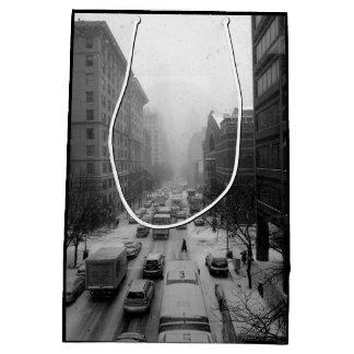 Sacola Para Presentes Média Inverno NYC