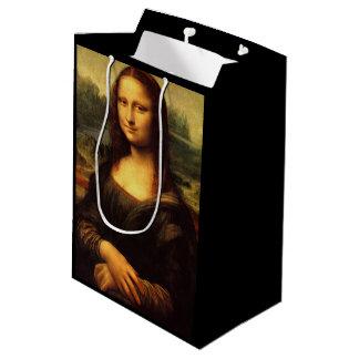 Sacola Para Presentes Média LEONARDO DA VINCI - Mona Lisa, La Gioconda 1503