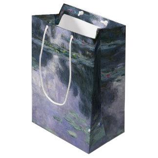 Sacola Para Presentes Média Lírios de água Nymphéas 1907 de Claude Monet