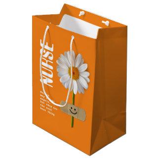 Sacola Para Presentes Média Obrigado nutre as bolsas do presente do design da