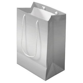 Sacola Para Presentes Média Olhar da prata do metal