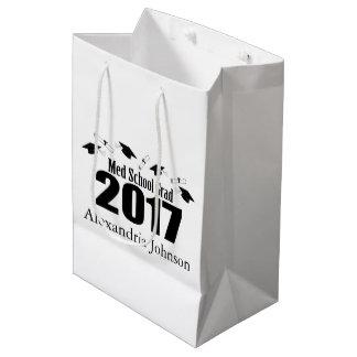 Sacola Para Presentes Média Saco 2017 do presente da graduação do formando da