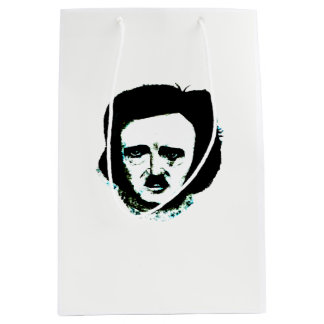 Sacola Para Presentes Média Saco do presente de Edgar Allan Poe