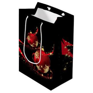 Sacola Para Presentes Média Saco do presente de época natalícia