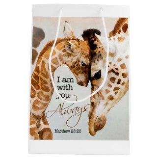Sacola Para Presentes Média Saco do presente do girafa