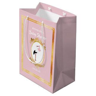 Sacola Para Presentes Média Saco feminino do presente do chá de fraldas do