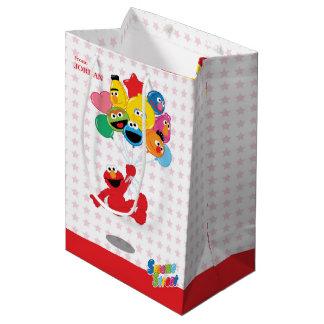 Sacola Para Presentes Média Sesame Street | Elmo e amigos - balões do