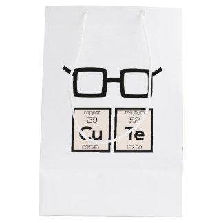 Sacola Para Presentes Média Vidros bonitos Zwp34 do nerd do elemento químico