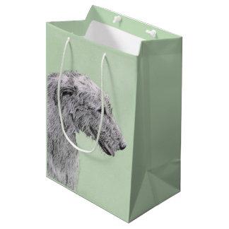 Sacola Para Presentes Média Wolfhound irlandês