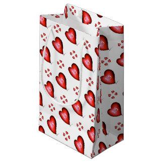 Sacola Para Presentes Pequena 13 dos corações