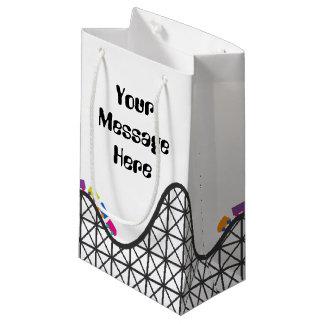 Sacola Para Presentes Pequena A montanha russa adiciona o saco do presente do