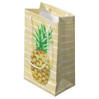 Sacola Para Presentes Pequena Abacaxi
