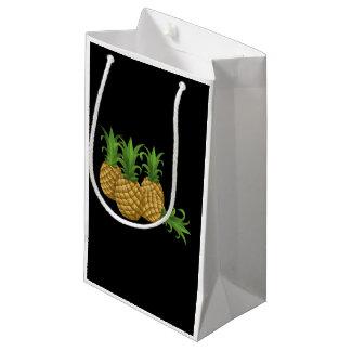 Sacola Para Presentes Pequena Abacaxi da comida do pulso aleatório