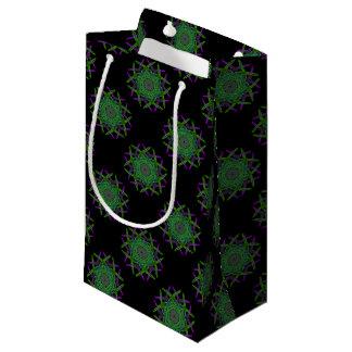 Sacola Para Presentes Pequena Arte do fumo do reciclado (5)