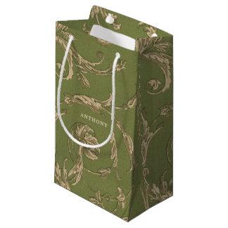 Sacola Para Presentes Pequena As bolsas elegantes do favor do casamento do teste