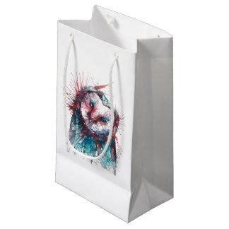 Sacola Para Presentes Pequena As bolsas geométricas do presente da coruja do