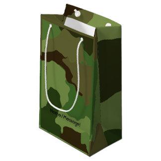 Sacola Para Presentes Pequena As forças armadas tradicionais camuflam