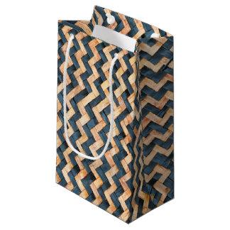 Sacola Para Presentes Pequena Bambu tecido