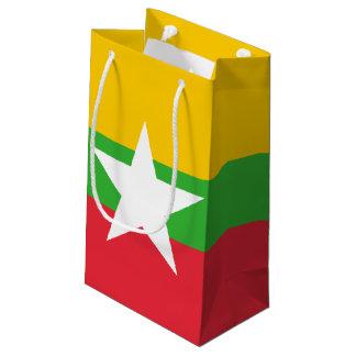 Sacola Para Presentes Pequena Bandeira de Burma