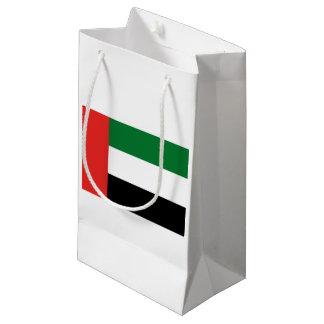 Sacola Para Presentes Pequena Bandeira de Emiradosarabes