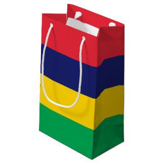 Sacola Para Presentes Pequena Bandeira de Maurícia
