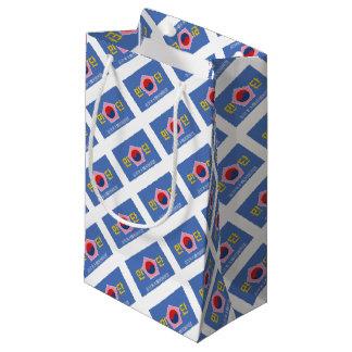 Sacola Para Presentes Pequena Bandeira de Mindan