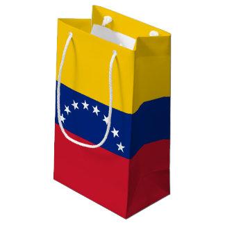 Sacola Para Presentes Pequena Bandeira de Venezuela
