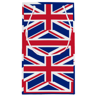 Sacola Para Presentes Pequena Bandeira nacional do Reino Unido Reino Unido,