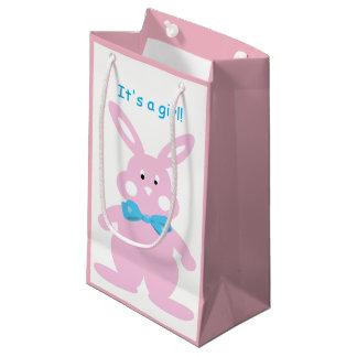 Sacola Para Presentes Pequena Bebê novo feito sob encomenda SGB do coelho do