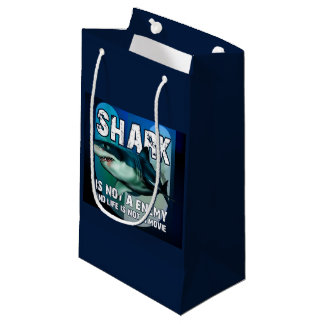 Sacola Para Presentes Pequena Bolsa Presente Shark