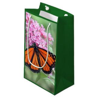 Sacola Para Presentes Pequena Borboleta de monarca