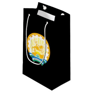 Sacola Para Presentes Pequena Brasão de Bashkortostan
