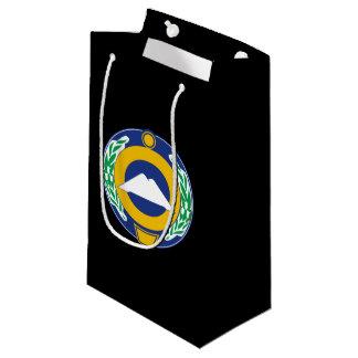 Sacola Para Presentes Pequena Brasão de Karachay-Cherkessia