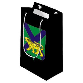 Sacola Para Presentes Pequena Brasão do krai de Primorsky