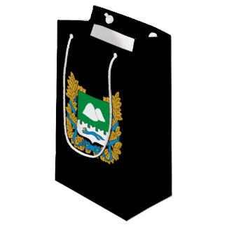Sacola Para Presentes Pequena Brasão do oblast de Kurgan