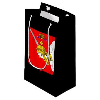 Sacola Para Presentes Pequena Brasão do oblast de Vologda
