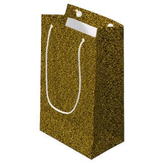 Sacola Para Presentes Pequena Brilho do ouro