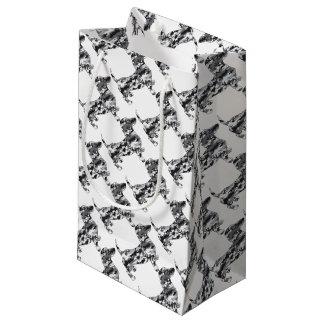 Sacola Para Presentes Pequena Camo-Cinzento-Doxie
