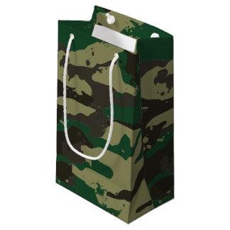 Sacola Para Presentes Pequena Camuflagem das florestas