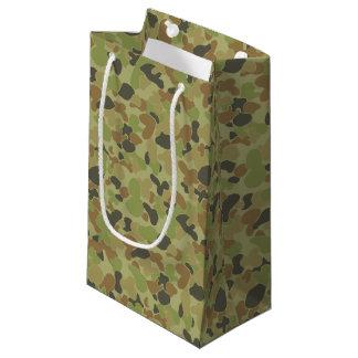 Sacola Para Presentes Pequena Camuflagem do verde de Auscam