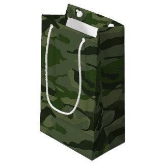 Sacola Para Presentes Pequena Camuflagem Khaki