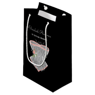 Sacola Para Presentes Pequena Chá de panela pessoal da lingerie do espartilho do