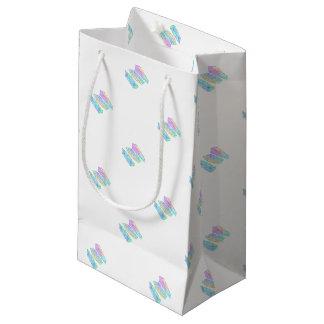 Sacola Para Presentes Pequena crystal