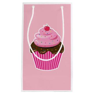 Sacola Para Presentes Pequena Cupcake