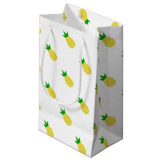 Sacola Para Presentes Pequena Design moderno do abacaxi