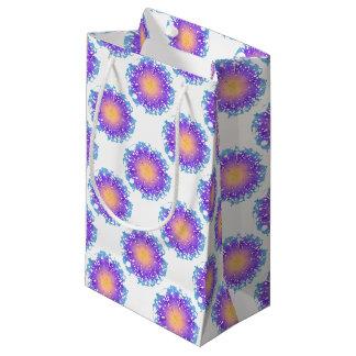 Sacola Para Presentes Pequena Flor do respingo
